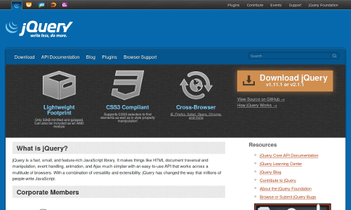 website parallax
