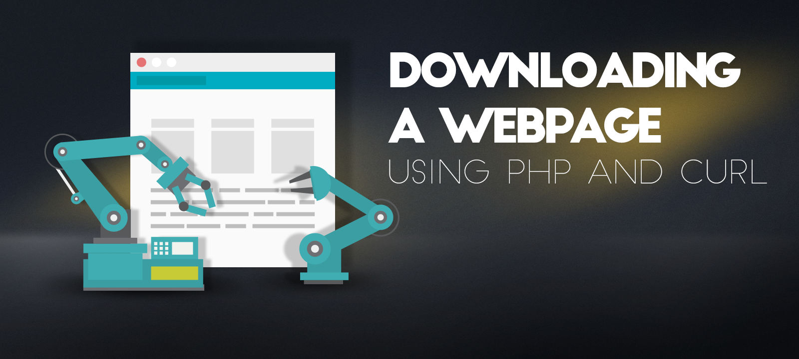 How to Download a Webpage using PHP and cURL